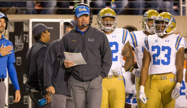 UCLA fires head coach Jim Mora