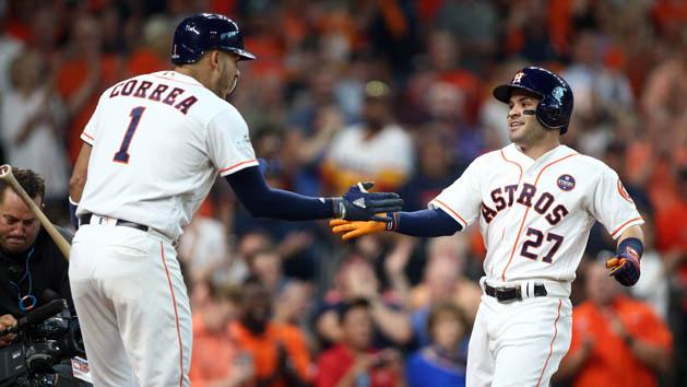 MLB Notebook: Altuve, Stanton named MVPs