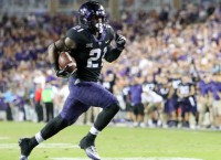 No. 8 TCU stifles Texas, sets up showdown with OU