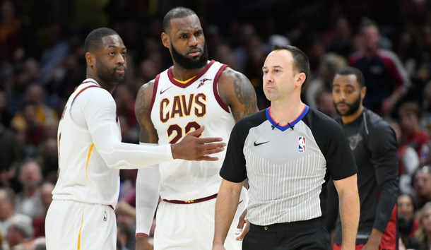 LeBron ejected for first time in career