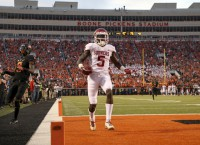Oklahoma WR Brown makes quick strides