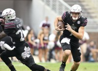 Fitzgerald back in saddle for No. 18 Mississippi State