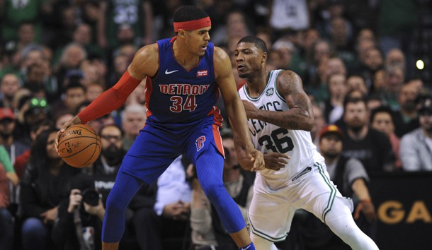 Drummond scores big to lead Pistons past Celtics 118-108