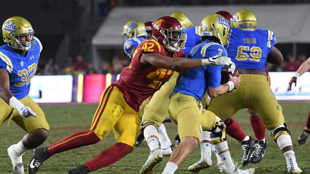 Nwosu emerges as a force on USC defense
