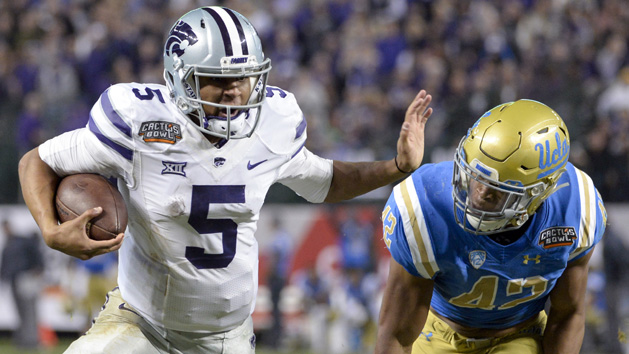 Delton runs wild as Kansas State flattens UCLA