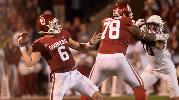 Jackson, Mayfield, Love named Heisman finalists