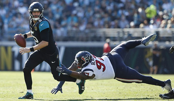 Jaguars embarrass Texans in first half, with 31-0 halftime lead