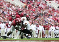 Alabama loses LB Moses to foot injury