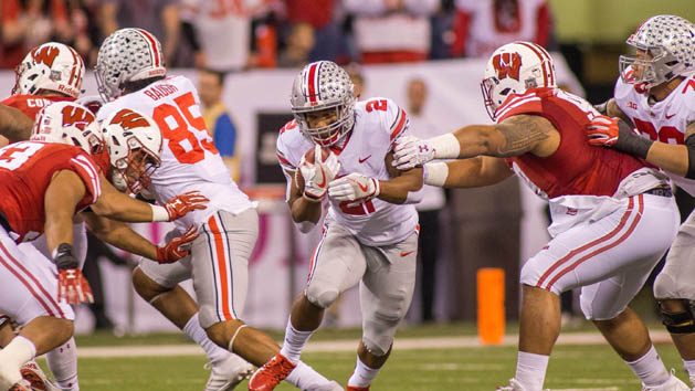 Ohio State holds off Wisconsin to win Big Ten title