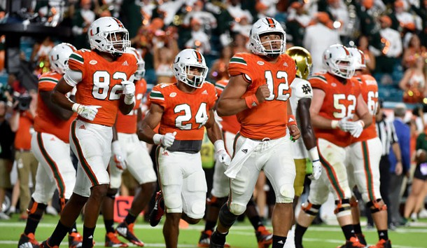 Miami prepares for tough Badgers offensive line