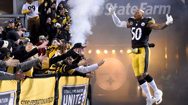 NFL Notes: Steelers' Shazier remains hospitalized