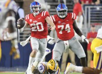 Ole Miss QB Patterson to transfer to Michigan