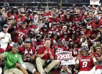 Mayfield passes OU past TCU in Big 12 title game