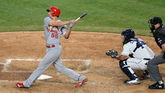 Athletics acquire OF Piscotty from Cardinals