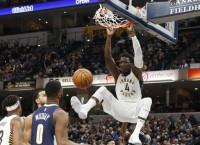 NBA Recaps: Pacers' Oladipo scores 47 in OT win