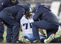 Titans offensive tackle Conklin has torn ACL