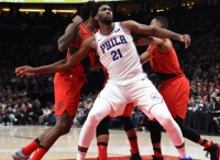 Embiid amped about 76ers playing Celtics in London