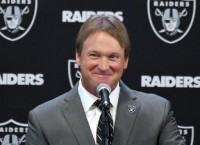 NFL Notes: Gruden introduced as Raiders coach