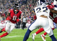 Julio Jones attends workout with Falcons teammates