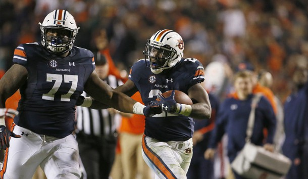 Kerryon Johnson is off to the NFL. Photo Credit: John Reed-USA TODAY Sports