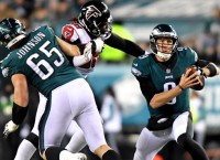 Eagles open title defense vs. Falcons without Wentz