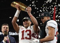 Tua good: Alabama wins national title in OT
