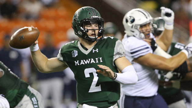 Hawaii QB Brown to transfer to Oklahoma State
