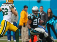 Panthers release RB Stewart after 10 seasons