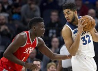 T-Wolves' Towns returns after 15-game absence
