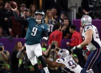 Dogs no more: Eagles top Pats in Super Bowl LII