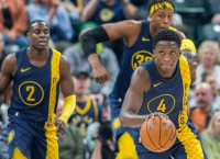 Pacers face Wizards with home win streak on line