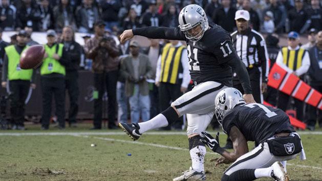 Report: K Janikowski finished with Raiders