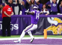 Vikings WR Diggs questionable for opener vs. Falcons
