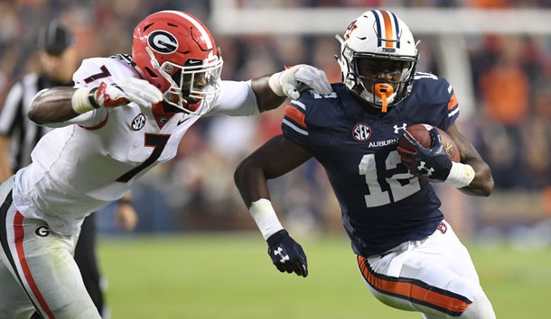 Auburn WR Eli Stove reportedly tears ACL, out for spring