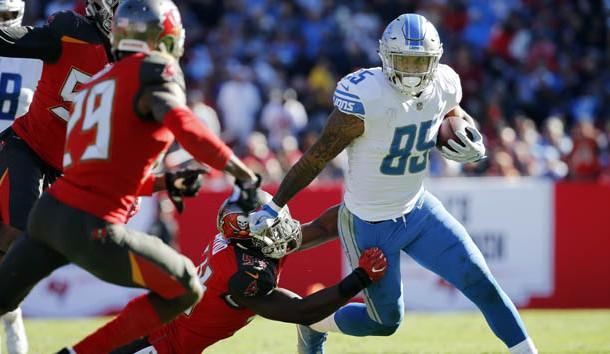 Eric Ebron has a new home after being released