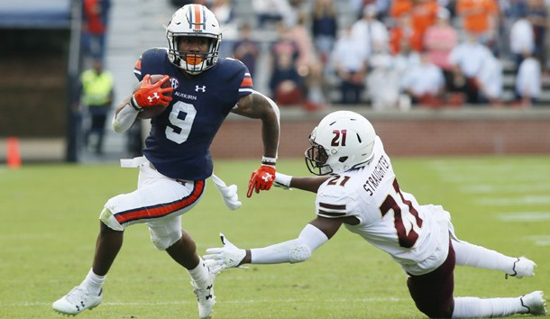 Kam Martin is a candidate to be Auburn's starting running back Photo Credit: John Reed-USA TODAY Sports