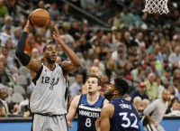 Spurs, Timberwolves kick off campaign full of hope