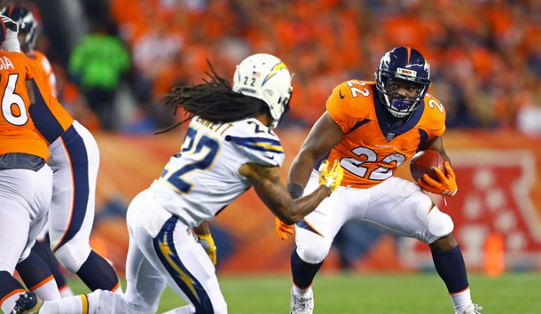 C.J. Anderson (22) was released by the Broncos. Photo Credit: Mark J. Rebilas-USA TODAY Sports