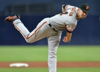 Giants turn to Stratton for series opener vs. Nats