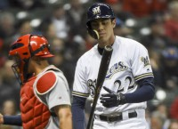 Brewers' Yelich expected back against Reds