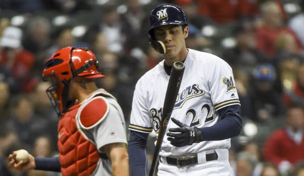 Christian Yelich back in lineup for Brewers