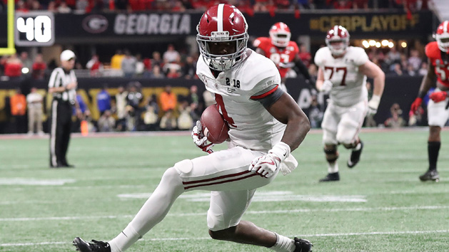 Report: Alabama WR Jeudy has knee surgery