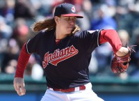 Indians close out road swing in Kansas City
