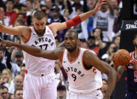 Raptors aim for 2-0 lead on Wizards