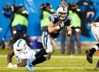 Panthers' McCaffrey downplays added muscle mass