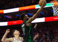 "Celtics not ""caught up"" with 3-0 lead over 76ers"