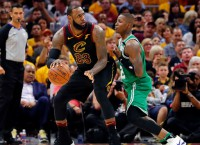 Cavs need James' defense versus Celtics