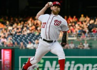 Nationals' Strasburg scratched from Saturday start