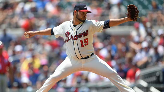 Sanchez hopes to start for Braves vs. Marlins