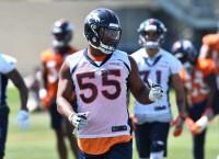 Broncos' Harris: Chubb looks like a young Khalil Mack